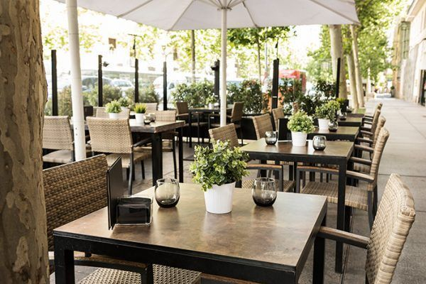 Odds Restaurante Terraza En Serrano Chic And Cheap Madrid
