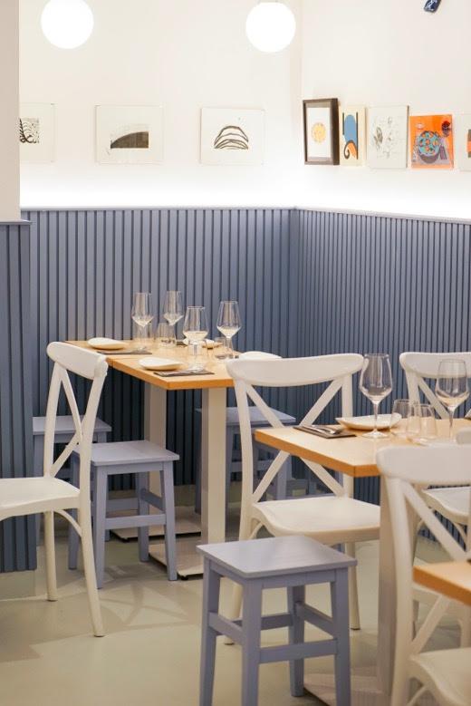 El restaurante Charnela, en la calle Ponzano de Madrid, propone una carta de mejillones en multitud de recetas y otras ricas especialidades