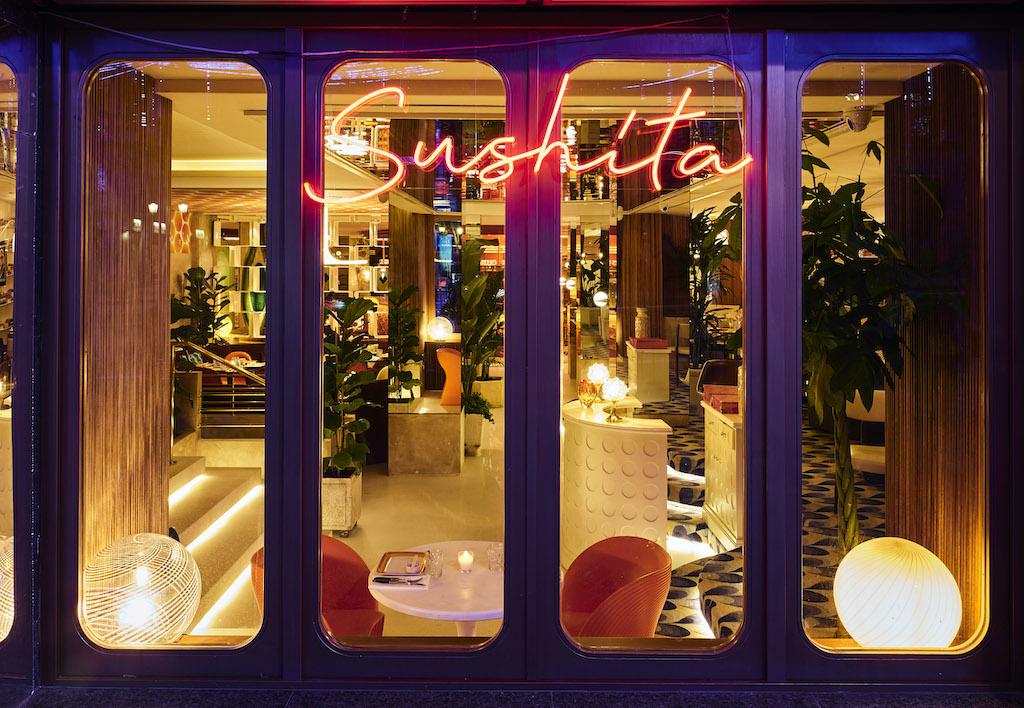 Le Club Sushita es el nuevo y alocado restaurante japo castizo de moda en la calle Alcalá de Madrid
