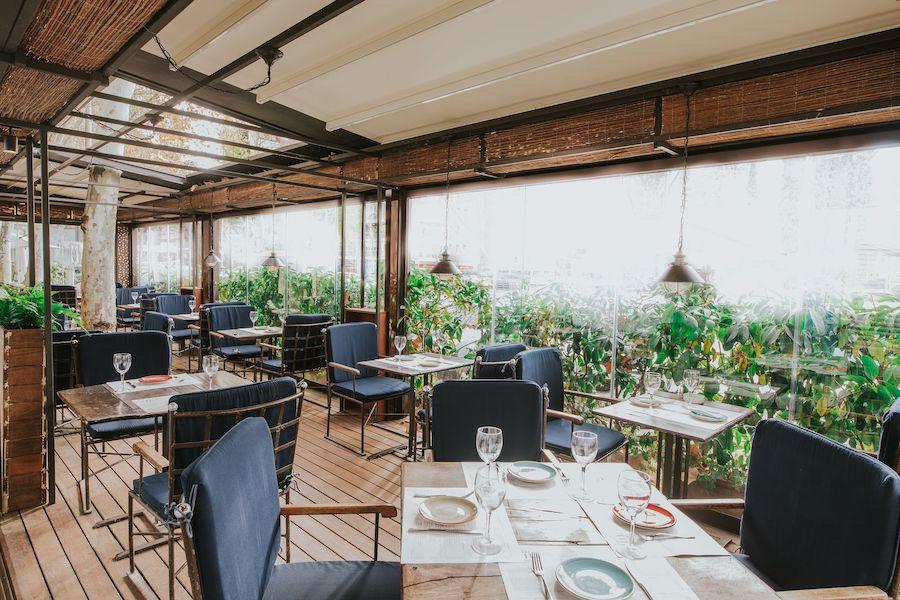 Baby Grill, una de las terrazas con encanto abiertas en Madrid desde la Fase 1