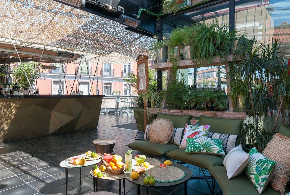 La Cocina de San Antón, una de las terrazas con encanto en Madrid abiertas desde la Fase 1