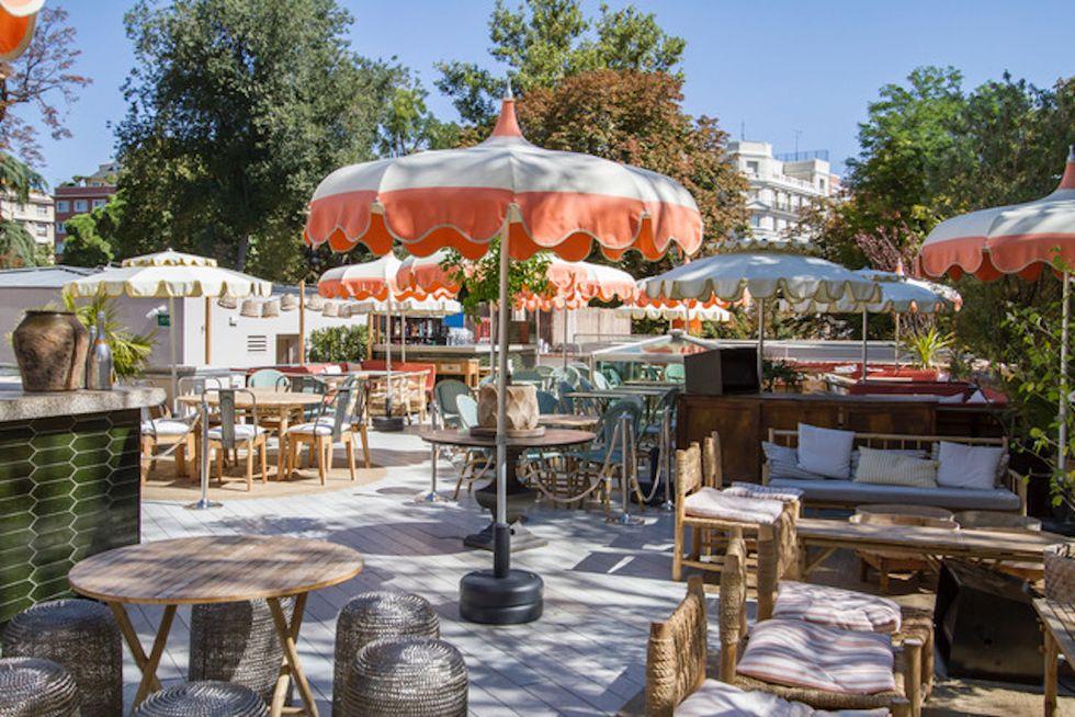 Florida Retiro, una de las terrazas con encanto en Madrid abiertas desde la fase 1