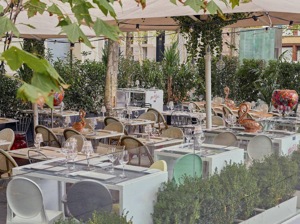 Patio de Leones, una de las terrazas con encanto en Madrid abiertas desde la Fase 1