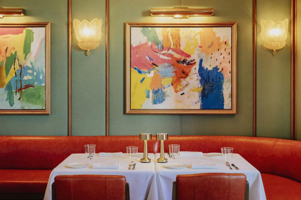 Imagen del restaurante Dani en Four Seasons Hotel Madrid