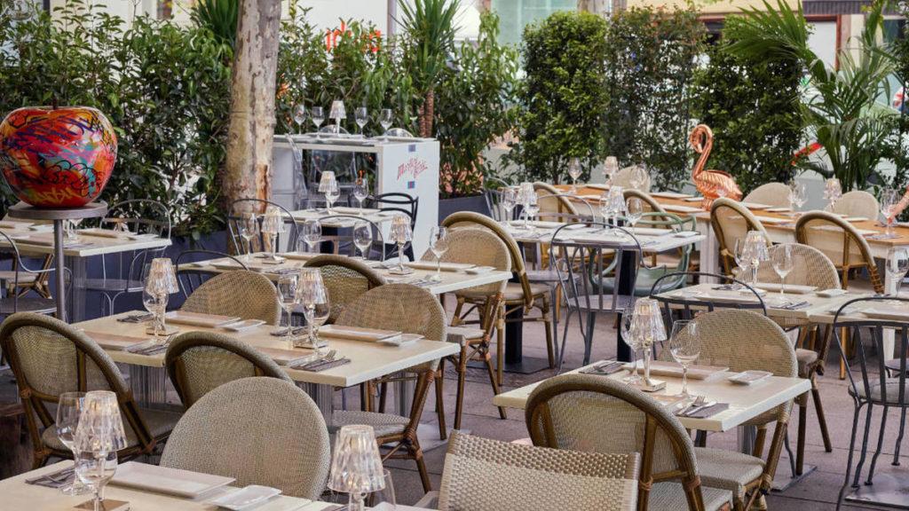 Imagen del restaurante Patio de Leones en Madrid