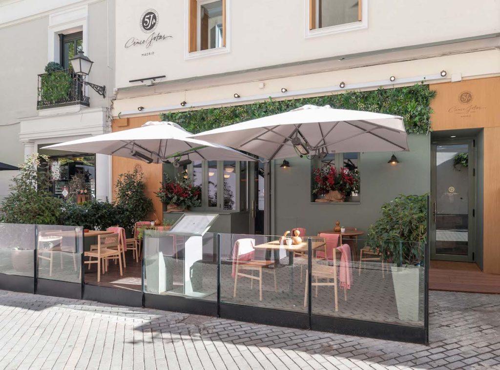 Imagen del restaurante Cinco Jotas Jorge Juan en Madrid